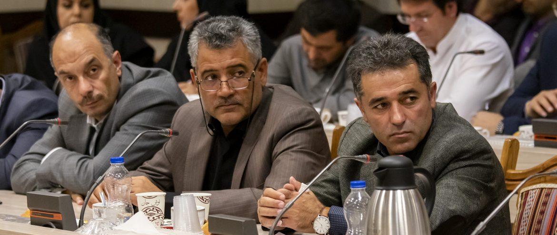 جلسه ستاد تسهیل و رفع موانع تولید و شورای گفت و گوی دولت و بخش خصوصی استان اردبیل