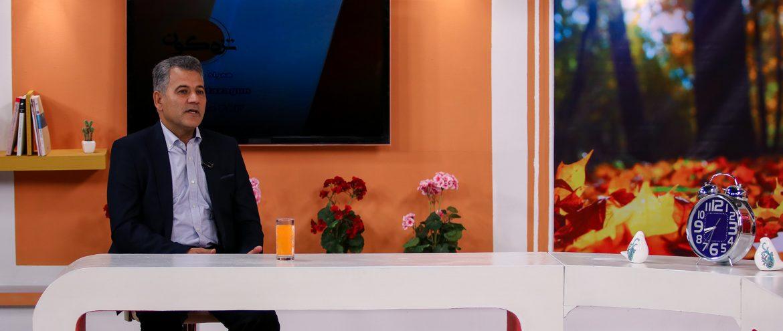 حضور مهندس میرحبیب عزیز زاده در برنامه تلویزیونی تزه گون شبکه سبلان اردبیل