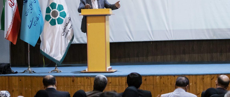 تجلیل از مهندس میرحبیب عزیز زاده مدیر عامل شرکت تعاونی، مهندسی عمران کارا به عنوان تعاونی برتر کشوری و استانی