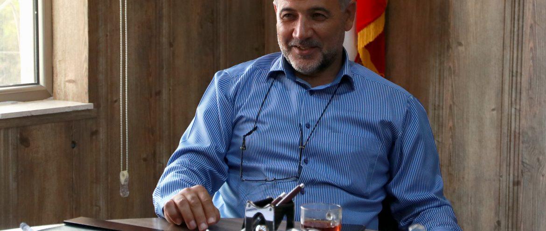 جلسه دو هفتگی انجمن صنفی شرکت های ساختمانی و تاسیساتی استان اردبیل با حضور مهندس میرحبیب عزیززاده